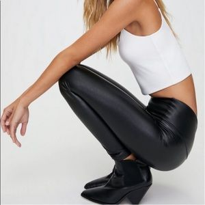 Wilfred Free Daria Pant Black Faux-Leather Legging